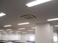 天井カセット型エアコンの設置